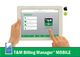 Electrical T&M Billing Mobile App