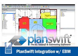 PlanSwift electrical estimating integration